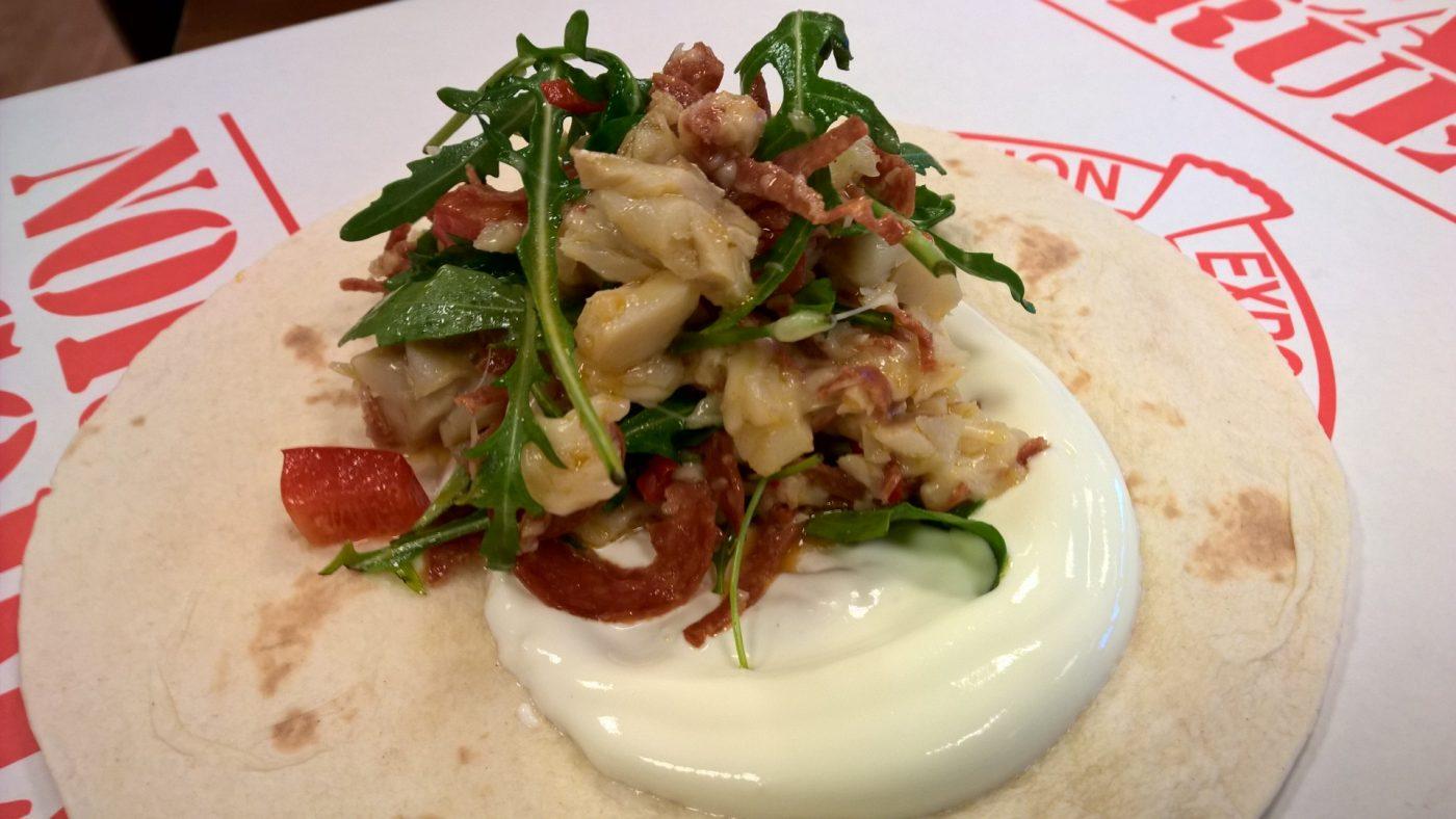 Klippfisk taco - et sunt alternativ